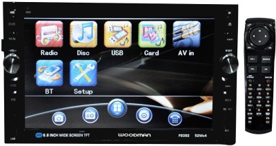 Woodman Double Din With DVD, Bluetooth & USB Car Stereo(Double Din)