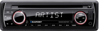 Blaupunkt Manchester 110 - CD, USB, iPod Compatible Stereo (Single DIN) Car Stereo(Single Din)