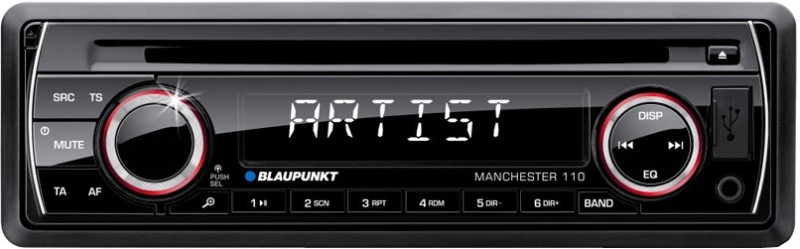 Blaupunkt Manchester 110 - CD, USB,Car Stereo Car Stereo(Single Din)