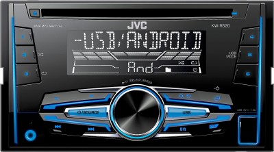JVC KW-R520 Car Stereo(Double Din)