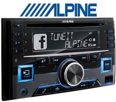Alpine Cde-W265ebt Car Stereo(Double Din)