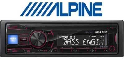 Alpine CDE 15E0E Car Stereo(Single Din)