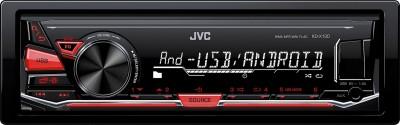 JVC KD-X130 Car Stereo(Single Din)