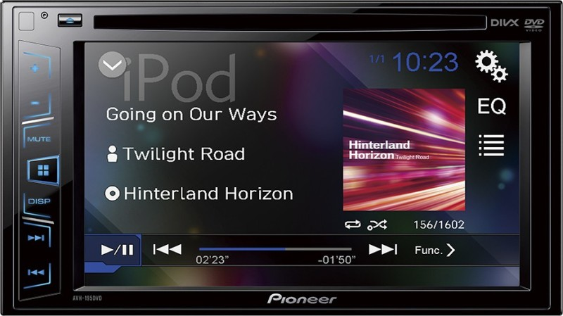 Pioneer AVH-199DVD Car Stereo(Double Din)