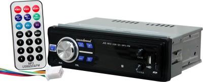 Soundwood USB-Aux-FM 40+40 Watt 2ch Stereo Car Stereo