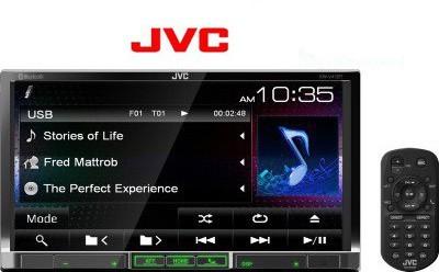 JVC KW - V41BT Car Stereo
