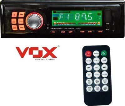 Vox 1102 Stereo 4 Channal With Fm, Sd Card Support, Usb, Aux In And Lcd Display Car Stereo