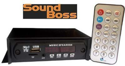 Sound Boss SB-108 Car Stereo(Single Din)