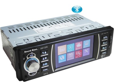 Sound Boss MP5 PLAYER WITH BLUETOOTH & REAR VIEW CAMERA Connectivity Car Stereo