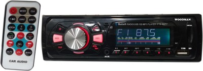 Woodman Single Din FM/USB/Bluetooth Car Stereo