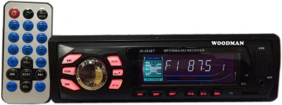 Woodman Single Din FM/USB/Bluetooth Car Stereo(Single Din)