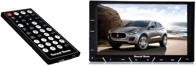 Sound Boss Double Din Bluetooth Car Video Player 7,, HD Touch Screen Stereo Radio FM/MP3/MP4/MP5/Audio/USB/TF/AUX Car Stereo