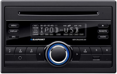 Blaupunkt New Orleans 220 CD/MP3/USB Receiver With Front Aux (Double DIN) Car Stereo