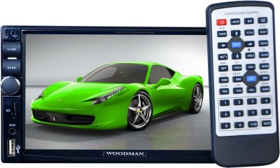 Woodman Doubledin With Bluetooth & Usb ( Full Hd) Car Media Player