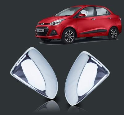 Auto Pearl Premium Quality Car Chrome Hyundai Xcent Plastic Car Mirror Cover(Hyundai NA)