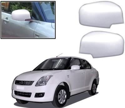 Auto Pearl Premium Quality Chrome Plated Mirror Cover For-Maruti Suzuki Swift Dzire Plastic Car Mirror Cover