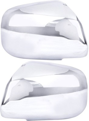 Auto Pearl Premium Quality Chrome Plated Mirror Cover For-Maruti Suzuki Alto -800 Plastic Car Mirror Cover