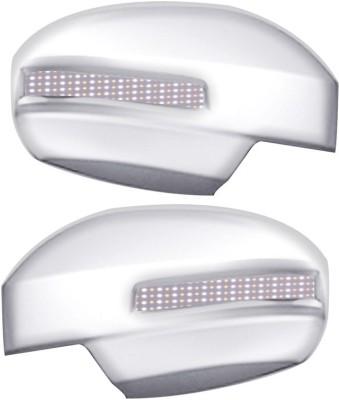 Auto Pearl Premium Quality Chrome Plated Blinking Mirror Cover For-Maruti Suzuki Swift Dzire 2012 Plastic Car Mirror Cover