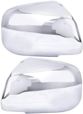 Auto Pearl Premium Quality Chrome Plated Mirror Cover For-Maruti Suzuki Alto K10-2014 Plastic Car Mirror Cover