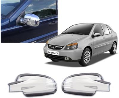 Auto Pearl Premium Quality Car Chrome Tata Indigo Plastic Car Mirror Cover