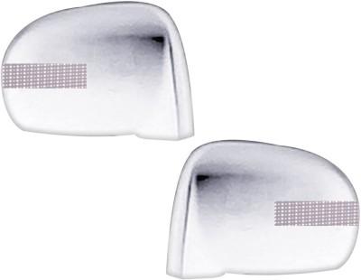 Auto Pearl Premium Quality Chrome Plated Blinking Mirror Cover For-Hyundai Santro Xing Plastic Car Mirror Cover
