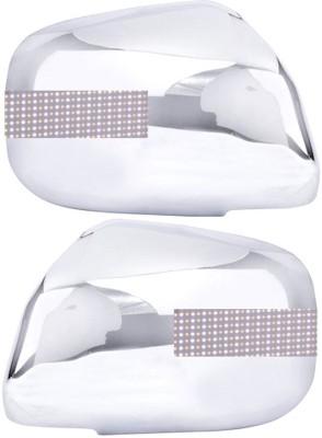 Auto Pearl Premium Quality Chrome Plated Blinking Mirror Cover For-Maruti Suzuki Alto K10 Plastic Car Mirror Cover