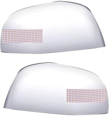 Auto Pearl Premium Quality Chrome Plated Blinking Mirror Cover For-Maruti Suzuki Zen Plastic Car Mirror Cover