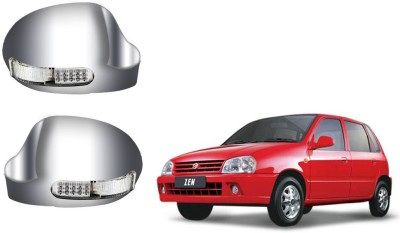 Auto Pearl Premium Quality Car Chrome Blinking Maruti Suzuki Zen Plastic Car Mirror Cover