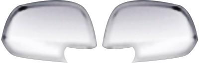 Auto Pearl Premium Quality Chrome Plated Mirror Cover For-Datsun GO Plastic Car Mirror Cover(Datsun Go)