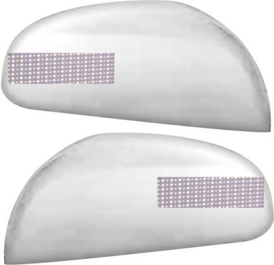Auto Pearl Premium Quality Chrome Plated Blinking Mirror Cover For-Maruti Suzuki Ritz Plastic Car Mirror Cover