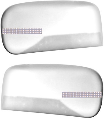 Auto Pearl Premium Quality Chrome Plated Blinking Mirror Cover For-Mahindra TUV 300 Plastic Car Mirror Cover