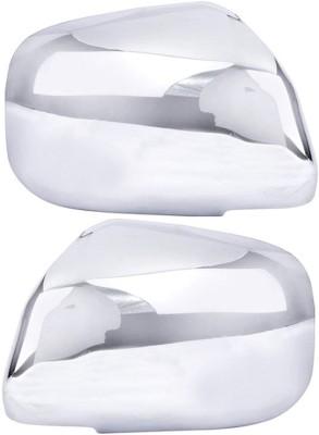 Auto Pearl Premium Quality Chrome Plated Mirror Cover For-Maruti Suzuki Alto K10 Plastic Car Mirror Cover
