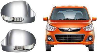 Auto Pearl Premium Quality Car Chrome Blinking Maruti Suzuki Alto K10 Plastic Car Mirror Cover