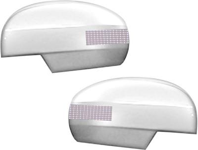 Auto Pearl Premium Quality Chrome Plated Blinking Mirror Cover For-Maruti Suzuki Swift 2011 Plastic Car Mirror Cover