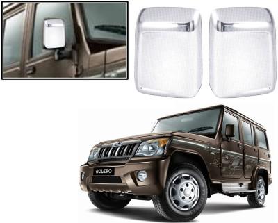 Auto Pearl Premium Quality Chrome Plated Mirror Cover For-Mahindra Bolero 2011 Plastic Car Mirror Cover