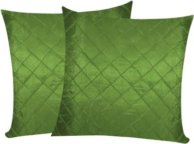 Zikrak Exim Green Polyester Car Pillow Cushion for Universal For Car