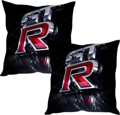 Sleepnature's Black Silk Car Pillow Cushion for Universal For Car