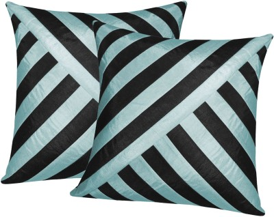 Zikrak Exim Black, Blue Polyester Car Pillow Cushion for Universal For Car