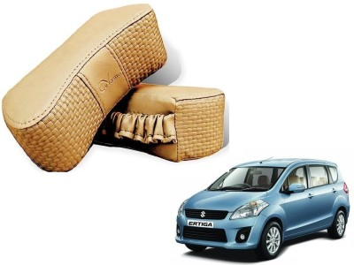 Kozdiko Beige Sponge Car Pillow Cushion for Maruti Suzuki