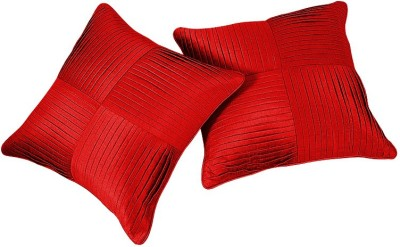Zikrak Exim Red Polyester Car Pillow Cushion for Universal For Car