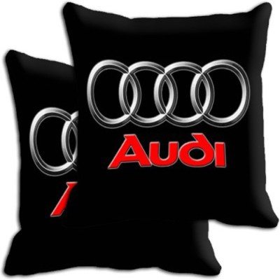 Shopnow Multicolor Silk Car Pillow Cushion for Audi