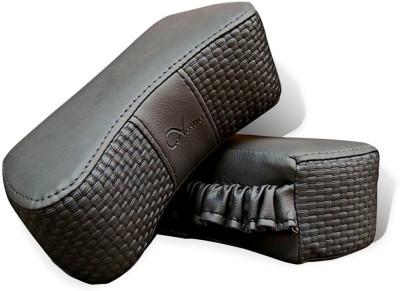 Kozdiko Grey Fabric Car Pillow Cushion for Honda