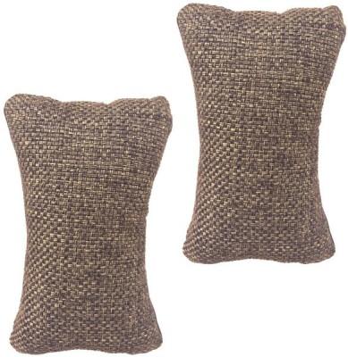Digitru Multicolor Fabric Car Pillow Cushion for Universal For Car