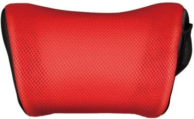 3D Red, Black Polyester, Cotton Car Pillow Cushion for Universal For Car