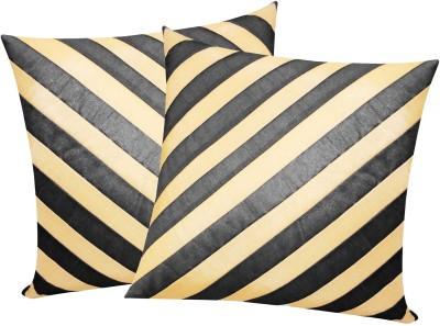 Zikrak Exim Black, Beige Polyester Car Pillow Cushion for Universal For Car