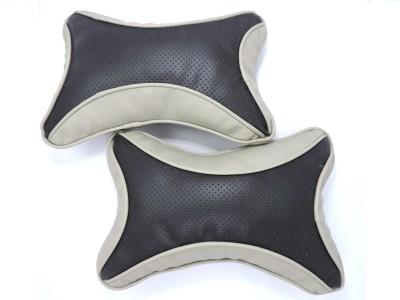 AutoSun Black Fabric Car Pillow Cushion for Universal For Car