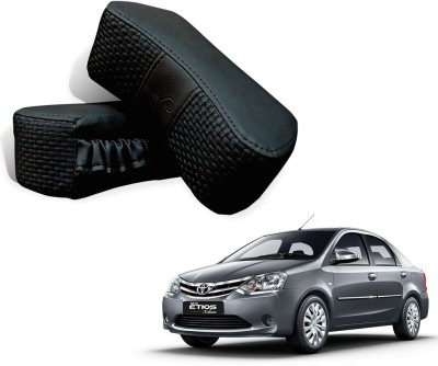 Kozdiko Black Fabric Car Pillow Cushion for Toyota