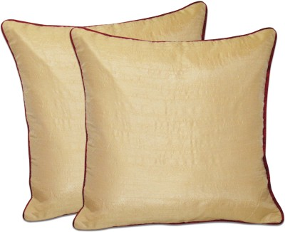 Zikrak Exim Beige Polyester Car Pillow Cushion for Universal For Car