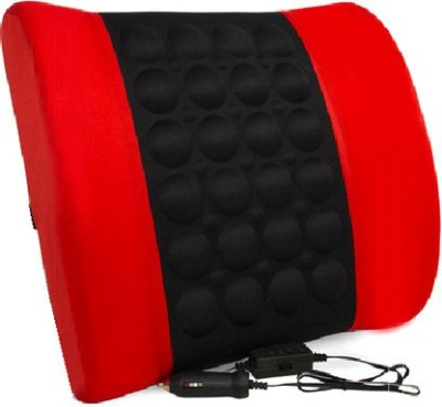 Speedwav Red, Black Cotton Car Pillow Cushion for Maruti Suzuki