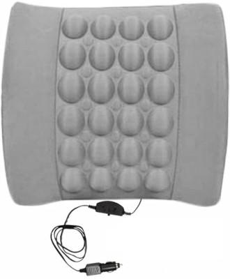 Speedwav Grey Cotton Car Pillow Cushion for Honda